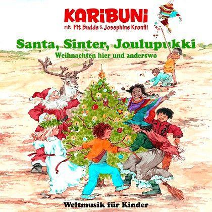 Wihnachtslieder in der ganzen Welt. Santa, Sinter Joulupukki. Playback. Karaoke