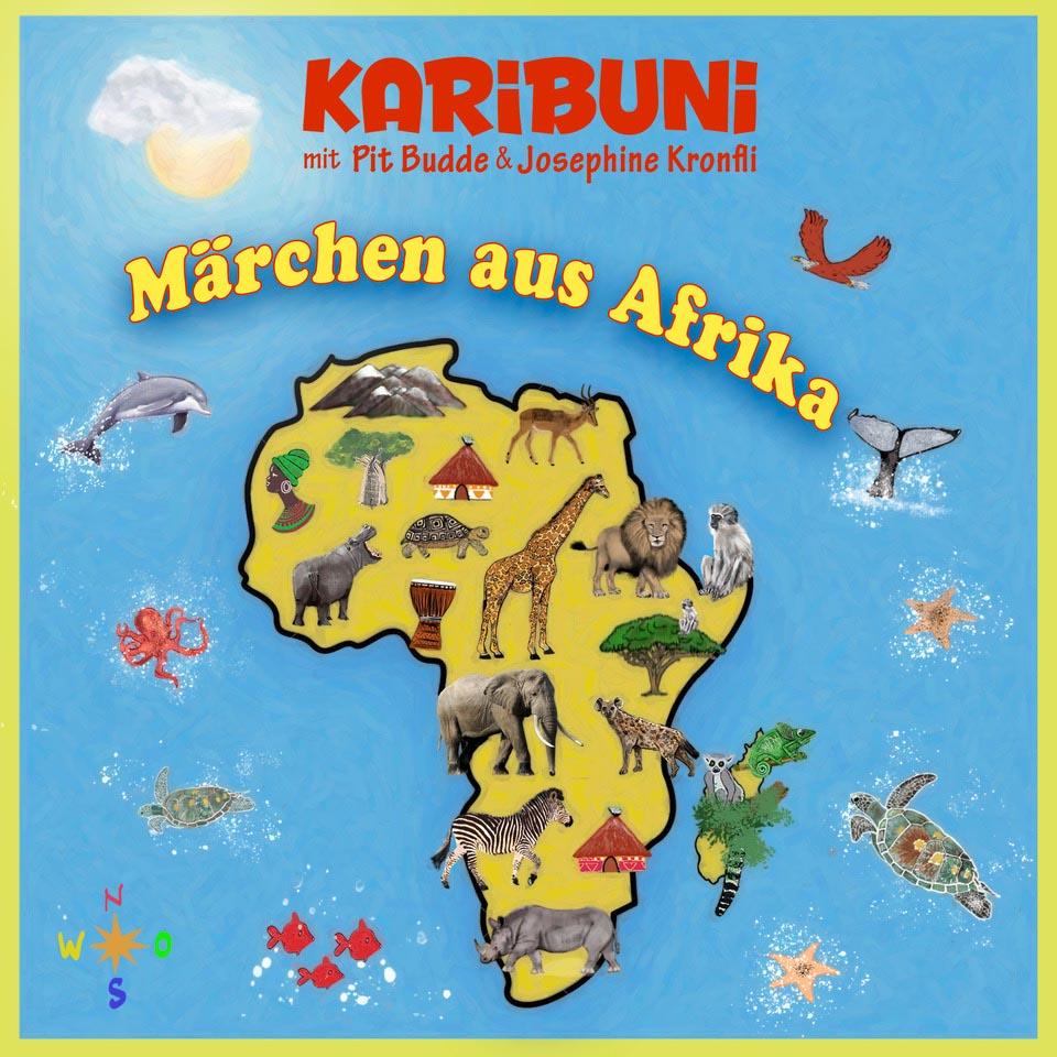Die schönsten afrikanischen Märchen aus Äthiopien, Tansania, Kenia, Sambia...